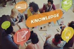 Концепция проницательности карьеры образования силы знания Стоковое Изображение RF
