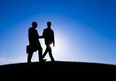 Концепция профессионала совета деловой встречи Стоковое фото RF