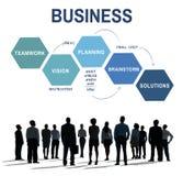 Концепция планирования зрения стратегии бизнеса стоковое изображение rf