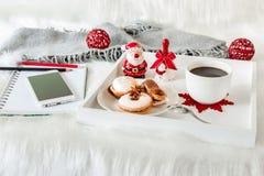 Концепция планирования рождества периода отдыха Стоковое Изображение