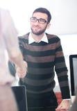 Концепция работника офиса команды дела работая Стоковая Фотография