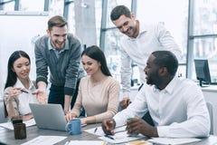 Концепция работы команды деловой встречи группы людей Стоковые Изображения