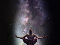 Концепция раздумья йоги стоковое фото rf