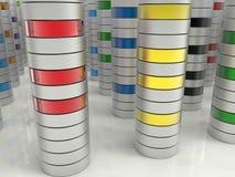 Концепция разнообразия хранения Стоковые Изображения RF