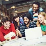 Концепция разнообразной группы людей архитектора работая Стоковая Фотография