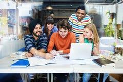 Концепция разнообразной группы людей архитектора работая Стоковая Фотография RF