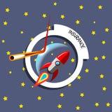 Концепция ракеты страхования Стоковые Изображения
