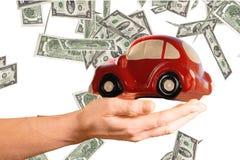 Концепция расходов автомобиля Стоковое Фото