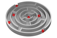 Концепция: Решение иллюстрация вектора