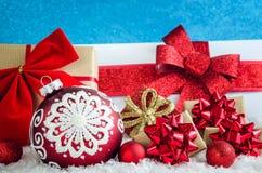 Концепция рождества зимы стоковые фотографии rf