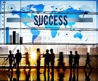 Концепция роста цели достижения успеха успешная Стоковое фото RF