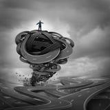 Концепция руководства бизнесом иллюстрация вектора