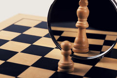 Концепция руководства, доверия и воображения стоковое фото rf