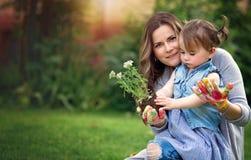 Концепция садовничающ, открывать и учить стоковое изображение