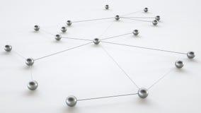 Концепция сети - перевода 3D Бесплатная Иллюстрация