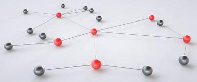 Концепция сети - перевода 3D Иллюстрация штока