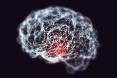 Концепция слабоумия медицинская Стоковое Изображение