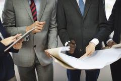 Концепция собрания Организации команды дела корпоративная Стоковые Изображения