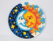 концепция солнца и луны Стоковые Изображения RF