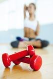 Концепция спорта и фитнеса. Стоковая Фотография