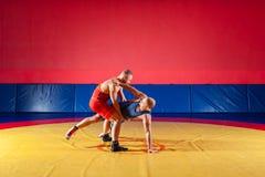 Концепция справедливый wrestling стоковая фотография rf
