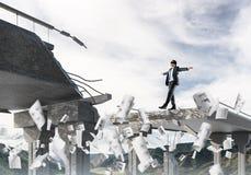 Концепция спрятанных рисков и опасностей Стоковая Фотография