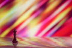 Концепция стратегии шахмат на яркой предпосылке Стоковое Изображение RF