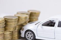 Концепция: страхование автомобилей Стоковые Изображения