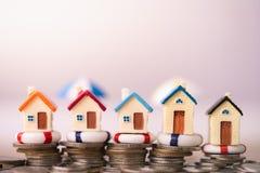 Концепция страхования жилья стоковая фотография