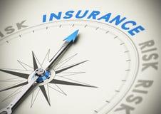 Концепция страхования или обеспечения Стоковые Изображения