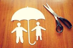 Концепция страхования людей Стоковые Изображения