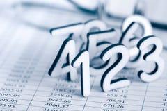 Концепция счетоводства Стоковое Изображение