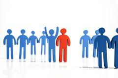 Концепция сыгранности, людей и значков Стоковое Фото