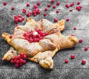 Концепция с снегом для рождественских открыток Стоковые Изображения
