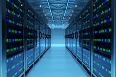 Концепция техники связи сети Стоковая Фотография