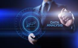 Концепция технологии интернета аналитика интеллектуального ресурса предприятия анализа данных стоковая фотография