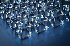 Концепция технологии Blockchain бесплатная иллюстрация