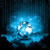 Концепция технологии производства телевидения и интернета Стоковое Изображение