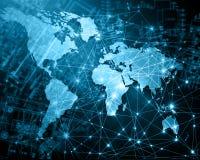 Концепция технологии производства телевидения и интернета Стоковые Фото