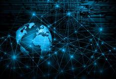 Концепция технологии производства телевидения и интернета Стоковое фото RF