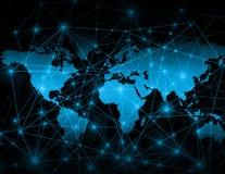 Концепция технологии производства телевидения и интернета Стоковые Изображения RF