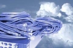 Концепция технологии сети Стоковые Фотографии RF