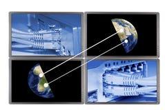 Концепция технологии сети стоковая фотография