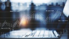 Концепция торговых и финансов стоковые фотографии rf