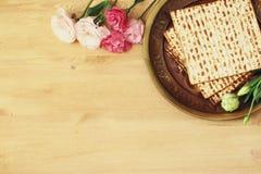 Концепция торжества Pesah & x28; еврейское holiday& x29 еврейской пасхи; Стоковые Изображения RF