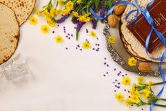 Концепция торжества Pesah & x28; еврейское holiday& x29 еврейской пасхи; стоковое фото