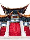 Концепция традиционного китайския: старая китайская архитектура стоковое фото rf