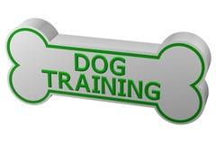 Концепция: тренировка собаки перевод 3d иллюстрация вектора