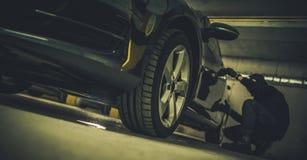 Концепция угона автомобиля стоковые фотографии rf
