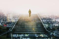 Концепция успеха и занятости Стоковое Изображение